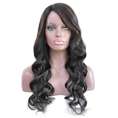 Aja Natural Curly Wig