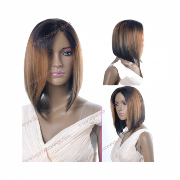 Amouri short straight natural wig multiview