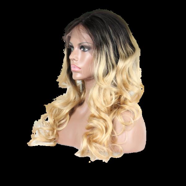 Blonde Ciara Long Wig Profile