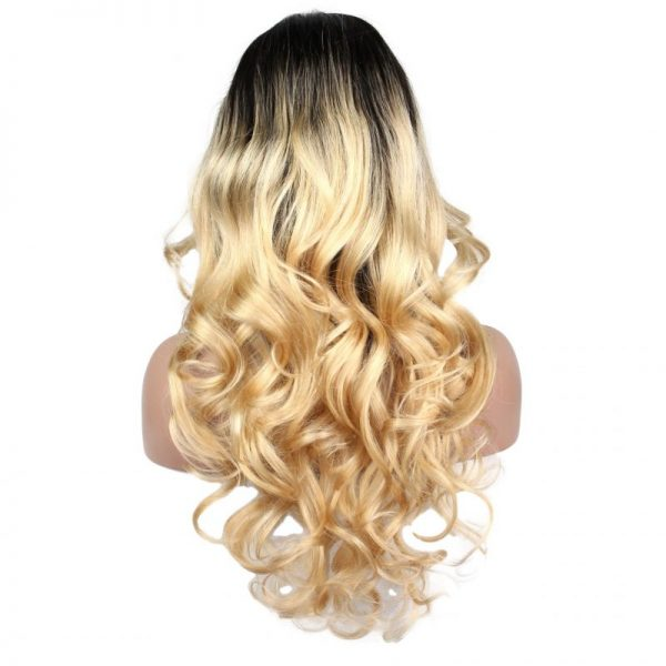 Blonde Ciara Long Wig Side