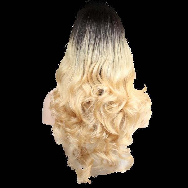 Blonde Ciara Long Wig Back