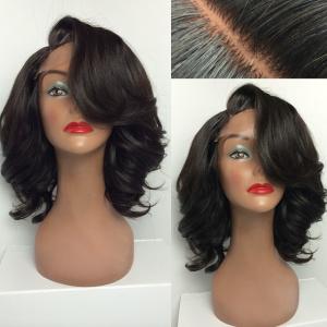 Java Short Curly Natural Wig