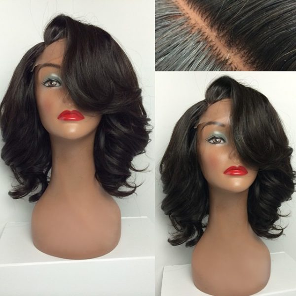 Java Short Curly Natural Wig