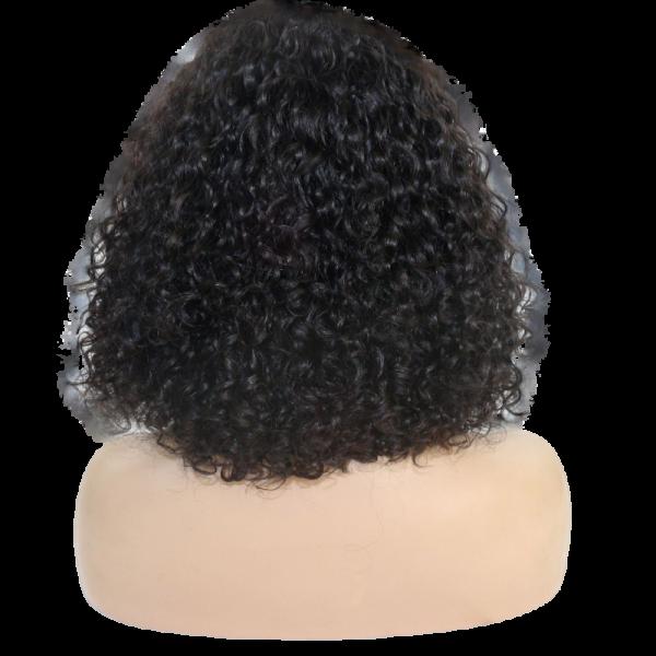 Pricilla Reign short curly natural wig back