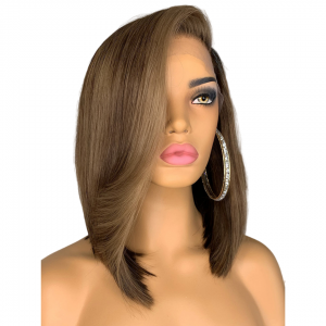 Kindel Straight wig natural ombre