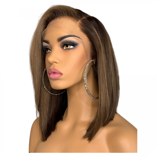 Kindel Straight wig natural ombre profile