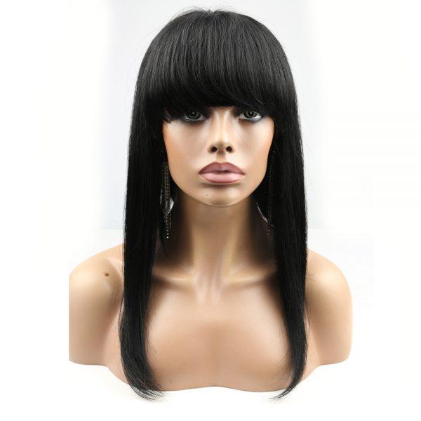 Minaj long wig with bangs