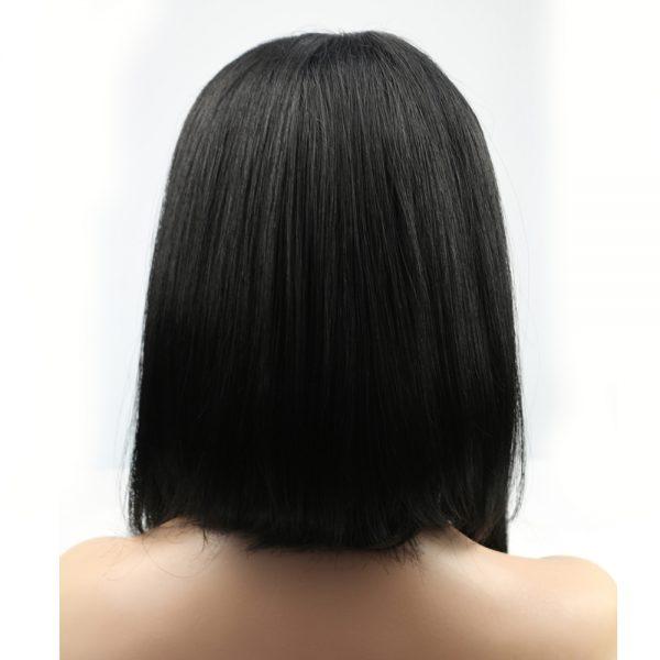 Minaj long wig with bangs back
