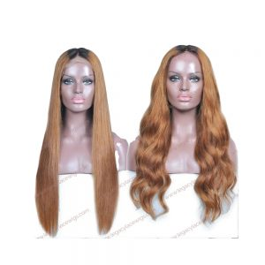 My Beauty Long Wig styled straight and wavy