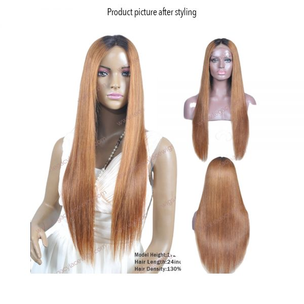 My Beauty long wig styled straight