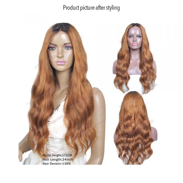 My Beauty long wig styled wavy
