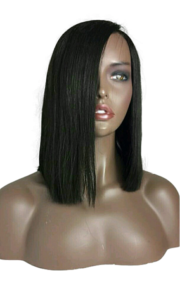 Sexy Lady wig straight natural black