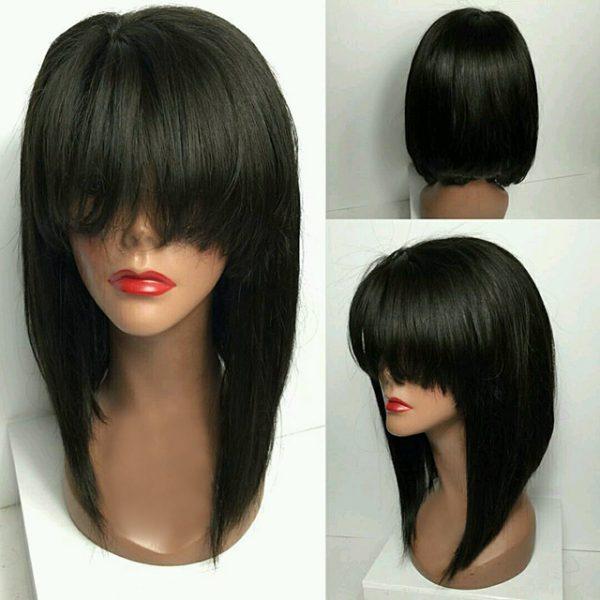 Indonesia bobbed natural wig