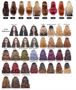 Wig color ring