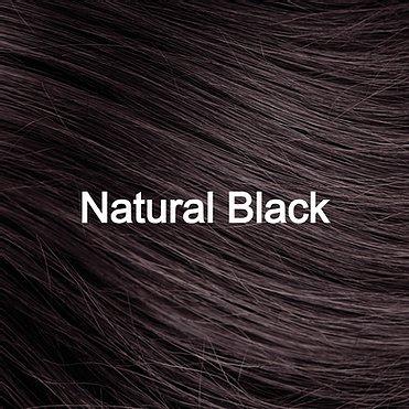 Natural Black hair sample